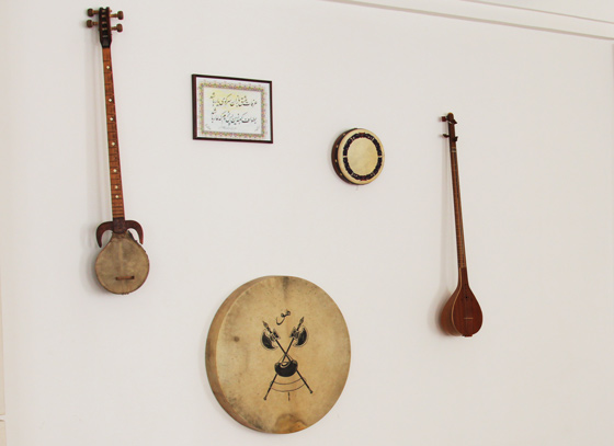 Sufi instruments used during Sama